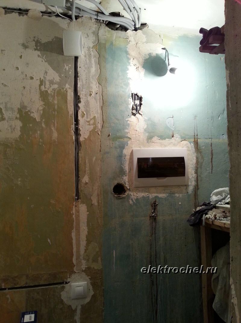 монтаж электрощита на 3-комнатную квартиру схема