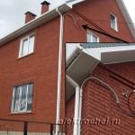 Монтаж СИП-2а-4х16 к фасаду коттеджа