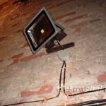 Конструкция для прожектора - результат